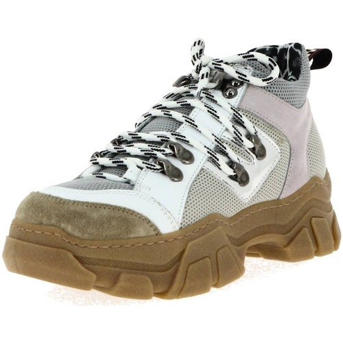 Chaussures Baskets Ma751 Meline Femme Blanc Basses xBedCo