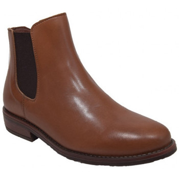 Chaussures Fille Bottines Bellamy susan454 Marron