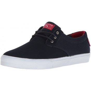 Chaussures Homme Chaussures de Skate Lakai DALY navy suede Bleu