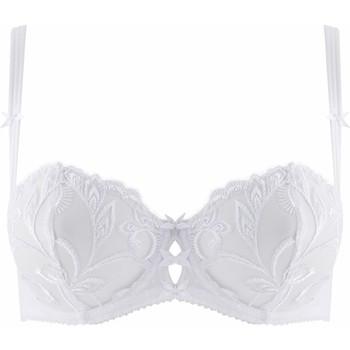 Sous-vêtements Femme Corbeilles & balconnets Aubade soutien-gorge corbeille au bal de flore Blanc