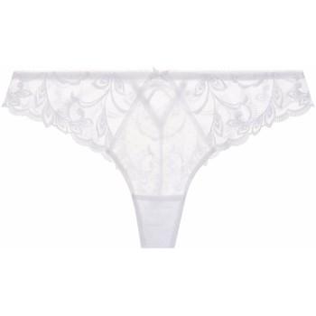 Sous-vêtements Femme Tangas Aubade tanga au bal de flore Blanc