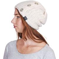 Accessoires textile Femme Bonnets Mokalunga Bonnet Celia Blanc