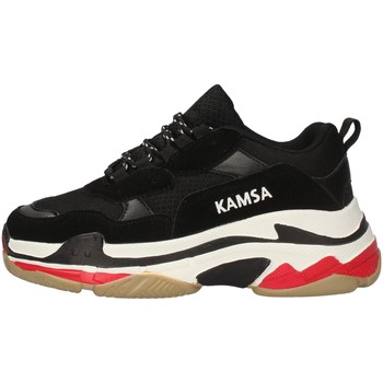 Chaussures Homme Baskets basses Kamsa VALENCIA NOIR