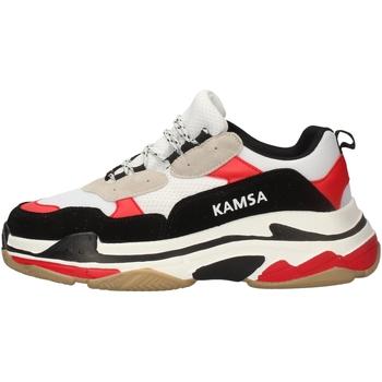 Chaussures Homme Baskets basses Kamsa VALENCIA BLANC