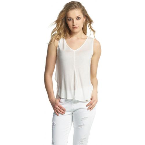 Vêtements Femme Tops / Blouses Salsa Top  Cains 112251 blanc
