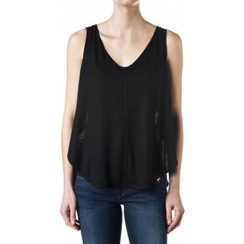 Vêtements Femme Débardeurs / T-shirts sans manche Salsa Top  Cains 112251 noir