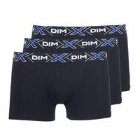 Sous-vêtements Homme Boxers DIM X-TEMP BOXER x3 Noir