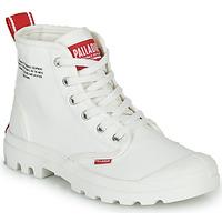 Chaussures Boots Palladium PAMPA HI DU C Blanc