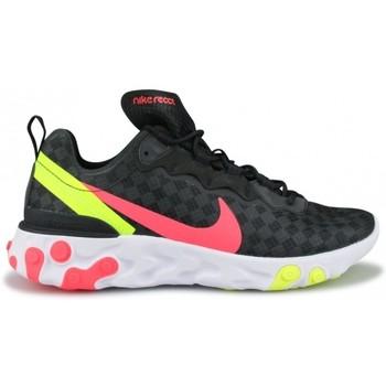 Chaussures Baskets basses Nike Basket  React Element 55 Noir Cj0782-001 Noir