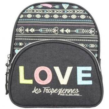 Sacs Enfant Sacs à dos Les Tropéziennes par M Belarbi Petit sac à dos XS Tropéziennes motif ethnique Love Noir Multicolor