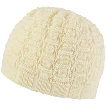 Accessoires textile Femme Bonnets Mokalunga Bonnet Queyras Crème Crème
