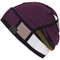 Accessoires textile Bonnets Mokalunga Bonnet patchwork Prune