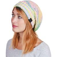 Accessoires textile Femme Bonnets Mokalunga Bonnet Strates Jaune