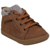 Chaussures Garçon Boots Shoo Pom bouba bi wool Marron