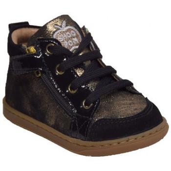 Chaussures Fille Boots Shoo Pom bouba bi zip aegean Noir