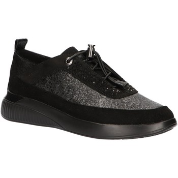 Chaussures Femme Slip ons Geox D948SA 0226P D THERAGON Negro