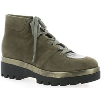 Chaussures Femme Boots Benoite C Boots cuir velours Taupe