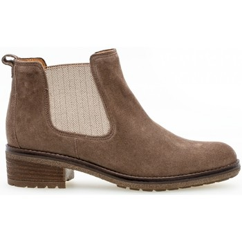 Chaussures Femme Bottines Gabor Chelsea boots Marron