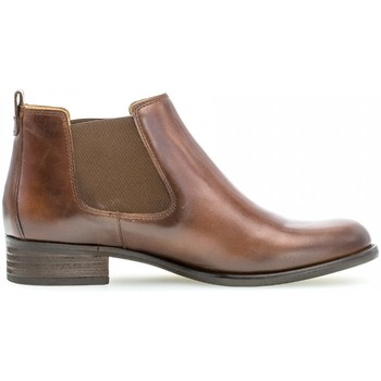 Chaussures Femme Bottines Gabor Chelsea boots Marron