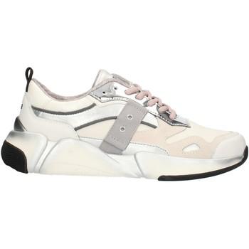 Chaussures Femme Baskets basses Blauer 9FMONROE01 Blanc et argent