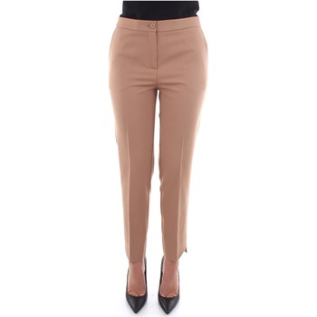 Vêtements Femme Chinos / Carrots Beatrice B 19FA1026P165 Beige