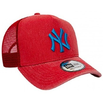 Accessoires textile Casquettes New Era CASQUETTE TRUCKER  WASHED MLB NEW YORK YANKEES / ROUGE Rouge
