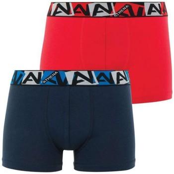 Sous-vêtements Garçon Boxers Athena BIOPACK rouge