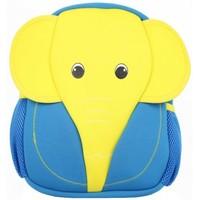Sacs Garçon Sacs à dos Maskot Grand sac à dos enfant  Boykot éléphant Jaune Bleu Multicolor