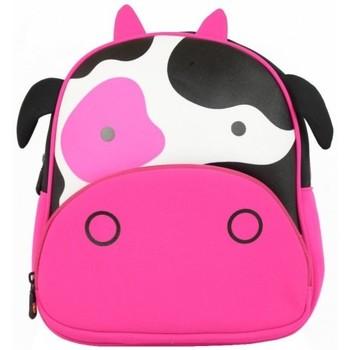 Sacs Fille Sacs à dos Maskot Grand sac à dos enfant  Mastikot la vache Rose Multicolor