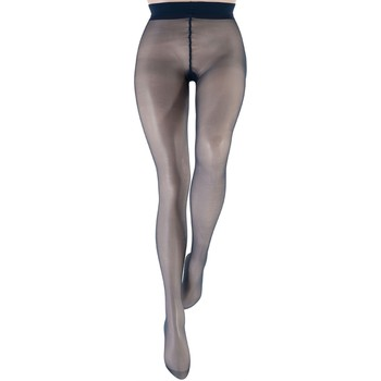 Sous-vêtements Femme Collants & bas Le Bourget Collant  Microfibre 15D Marine Bleu