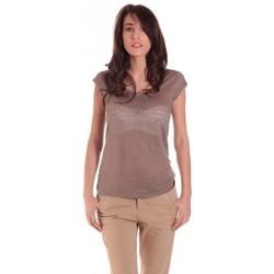Vêtements Femme T-shirts manches courtes Sud Express TEE-SHIRT TARIKA BRONZE Doré