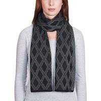 Accessoires textile Femme Echarpes / Etoles / Foulards Mokalunga Echarpe Joia Noir