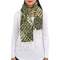 Accessoires textile Femme Echarpes / Etoles / Foulards Qualicoq Echarpe Gaya Jaune