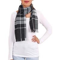 Accessoires textile Femme Echarpes / Etoles / Foulards Qualicoq Echarpe Stirling - Couleur - Noir - Fabriqué en France Noir