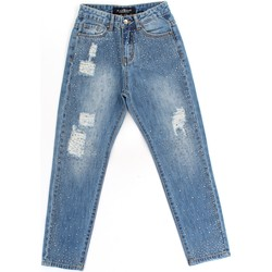 Vêtements Fille Jeans skinny Richmond Kids RGA19295JE Blue Denim