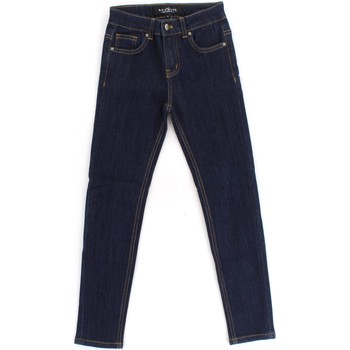 Vêtements Fille Jeans skinny Richmond Kids RGA19270JE Blue Denim