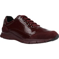 Chaussures Femme Baskets basses Geox D SUKIE B Rouge