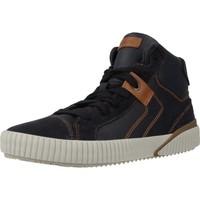 Chaussures Garçon Baskets montantes Geox J ALONISSO BOY Bleu
