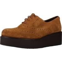 Chaussures Femme Richelieu Clover 7580C Marron