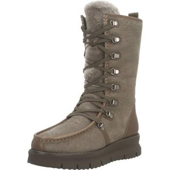 Chaussures Femme Bottes de neige Geox D PORTHYA Marron
