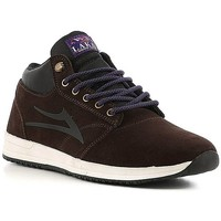 Chaussures Homme Chaussures de Skate Lakai GRIFFIN MID WT chocolate Marron