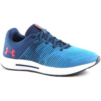 Chaussures Enfant Running / trail Under Armour Grade School Pursuit NG Bleu