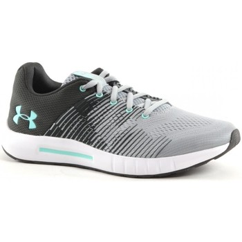 Chaussures Garçon Running / trail Under Armour Grade School Pursuit NG Noir