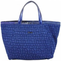 Sacs Femme Sacs porté main Patrick Blanc Sac trapèze  motif Bleu marine Multicolor