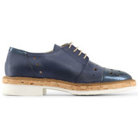 Chaussures Femme Derbies Made In Italia - letizia Bleu
