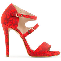 Chaussures Femme Sandales et Nu-pieds Made In Italia - iride Rouge