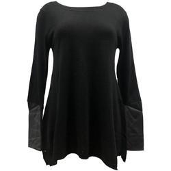 Vêtements Femme Pulls Vision De Reve Vision de Rêve Pull 12005 Noir Noir