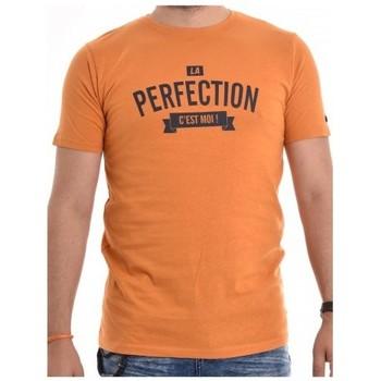 Vêtements Homme T-shirts manches courtes Ritchie T-shirt coton organique NABRIN Orange