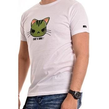 Vêtements Homme T-shirts manches courtes Ritchie T-shirt coton organique NAMANGA Blanc