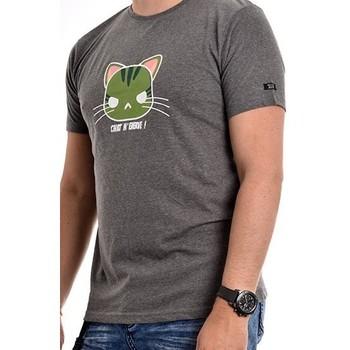 Vêtements Homme T-shirts manches courtes Ritchie T-shirt coton organique NAMANGA Gris foncé